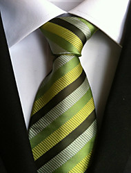 abordables -Homme Tous Cravate A Rayures Cravate Rayé