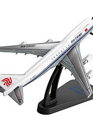 abordables -Kit de Maquette Véhicules à Friction Arrière Avion Jouets Articles d'ameublement Avion Automatique Alliage de métal Pièces Unisexe Cadeau