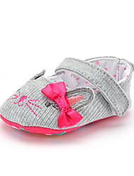 cheap -Children's Baby Shoes Fabric Summer Fall First Walkers Loafers & Slip-Ons Bowknot Appliques Polka Dot for Casual Party & Evening Dress