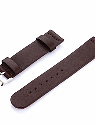 cheap -Watch Band for Moto 360 2nd Motorola Modern Buckle Genuine Leather Wrist Strap