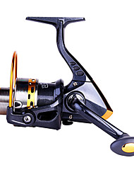 HiUmi Super Hard 14BB Fishing Reel YB5000 5.51 Metal Spinning Reel Carp Fishing Wheel with Spare Spool
