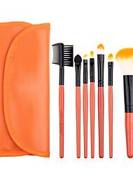 economico -7pcs Pennelli per il trucco Professionale Set di pennelli / Pennello per cipria / Pennello per ombretto Capelli sintetici Classico