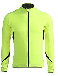 cheap -Jaggad Men's Long Sleeve Cycling Jacket / Cycling Jersey Bike Jersey / Jacket, Thermal / Warm, Fleece Lining, Breathable Polyester,