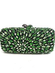 preiswerte -Damen Taschen Ganzjährig PU Metall Abendtasche für Grün