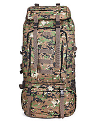 Fengtu® 80L Jungle Camouflage Backpacks Travel Duffel Travel Organizer Hiking & Backpacking Outdoor Rucksack Camping / Hiking Mountaineering Backpacks