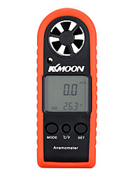 KKmoon Portable Mini Professional LCD Digital Anemometer Wind Speed Air Velocity Air Temperature Test Tool
