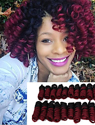 cheap -Glamorous & Dramatic 100% kanekalon hair 100% kanekalon hair Curly Braids Hair Braids