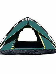 3-4 persone Tenda Doppio Tenda da campeggio Una camera Pop up tenda Antiumidità Ompermeabile Anti-pioggia per Campeggio All'aperto Al