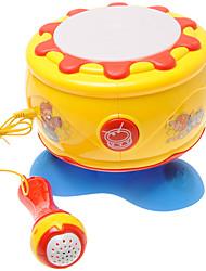 cheap -Drum Set Dollhouse Baby Music Toy Lighting Plastics Kid's Girls' Gift