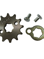 428 12Tooth ATV Motorcycle Dirt Pit Bike Front Engine Sprocket Set 17MM