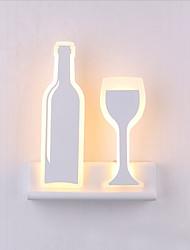 AC 12 DC 12 10 LED integrato Moderno/contemporaneo Galvanizzatto caratteristica for LED,Luce ambient Lampade a candela da pareteLuce a