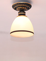 cheap -American Style Ceiling Lamp Bedroom Simple  Hallway Lamp Single Head  Retro Ceiling Lamps