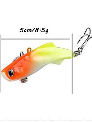 4pcs Soft Lead Fish Fishing Lure 5cm 8.5g Pesca Silicone Artificial Bait Jig Wobblers Rubber Sharp Hook Soft Bait