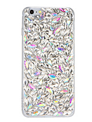 cheap -Case For iPhone 7 Plus iPhone 7 iPhone 6s Plus iPhone 6 Plus iPhone 6s iPhone 6 iPhone 5 Apple Rhinestone DIY Back Cover Glitter Shine 3D