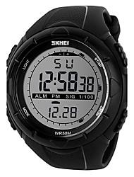 Men's Sport Watch Dress Watch Smart Watch Fashion Watch Wrist watch Unique Creative Watch Digital Watch Chinese Digital LCD Calendar