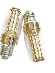cheap -7W E14 E27 LED Corn Lights 60 SMD 2835 600 lm Warm White White K AC 220-240 V