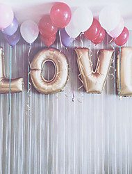 32inch L-O-V-E Gold Balloons Beter Gifts® Party Decoration Wedding Reception