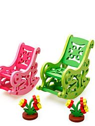 Недорогие -Ролевые игры Конструкторы 3D пазлы Для получения подарка Конструкторы 3-6 лет Игрушки