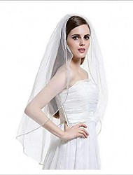 cheap -One-tier Beaded Edge Wedding Veil With The Wedding Store Wedding Theme