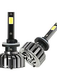 abordables -Kkmoon paire de lampes 880 cc 12v 40w 4000lm 6000k led phare lampe ampoules