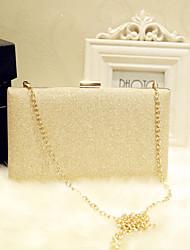 preiswerte -Damen Taschen PU Abendtasche für Veranstaltung / Fest Klub Party & Festivität Ganzjährig Gold Silber