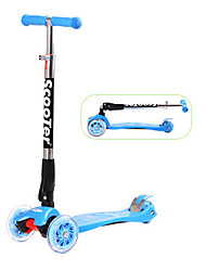 Kick Scooter for Kid's PU LED Light
