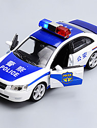 cheap -Toy Cars Toys Model Car Police car Toys Metal Alloy Chrome Pieces Children's Gift
