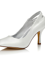 Da donna scarpe da sposa Seta Autunno Inverno A stiletto Avorio 5 - 7 cm