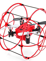 RC Drone M66 Canal 4 2.4G - Quadcópero com CR Vôo Invertido 360° Quadcóptero RC Cabo USB Chave de Fenda Hélices