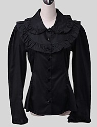 Classic Lolita Dress Vintage Inspired Women's Teen Girls' Blouse/Shirt Cosplay Long Sleeves