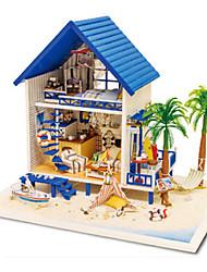 preiswerte -CUTE ROOM Modellbausätze Spielzeuge Heimwerken Holz Klassisch Stücke Unisex Geschenk