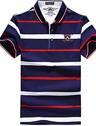 Homens Camiseta de Trilha Ciclismo Camiseta Blusas para Correr Todas as Estações M L