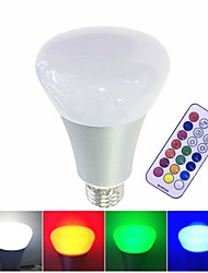 cheap -1pc 10 W 700 lm E26 / E27 LED Smart Bulbs 1 LED Beads Integrate LED Dimmable / Remote-Controlled / Decorative RGB / RGBW / RGBWW 85-265 V / 1 pc / RoHS