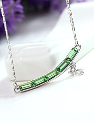 Dámské Náhrdelníky s přívěšky Šperky Flower Shape Šperky Křišťál Slitina Jedinečný design Módní Euramerican Šperky Pro Párty Ostatní