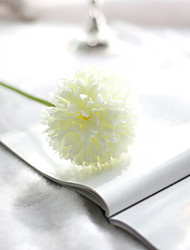 cheap -Single Head Small Colorful Silk Balls And Ball Simulation Flowers Household Green Silk Flower Export Fake Wedding