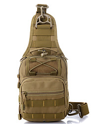 cheap -10 L Hiking Sling Backpack - Normal, Multifunctional Outdoor Camping / Hiking Nylon Mud Color