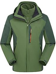 Damen Unisex Wanderjacke warm halten Windundurchlässig Hosen/Regenhose für Skifahren Frühling Winter M L XL XXL XXXL