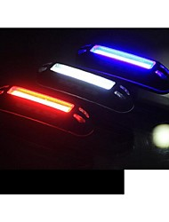 cheap -Rear Bike Light / Safety Light / Tail Light LED LED Cycling Outdoor, Water Resistant, LED Light USB / Lithium Battery 100 lm USB Natural White / Red / Blue Cycling / Bike