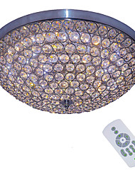 cheap -Flush Mount Ambient Light - Crystal Bulb Included Dimmable Dimmable With Remote Control Designers, Artistic Chic & Modern Traditional /