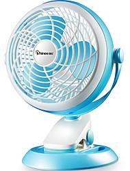 Недорогие -Вентилятор Тонкий дизайн Вертикальный дизайн Прохладный и освежающий Легкий и удобный Регулирование скорости ветра Встряхивание головы USB