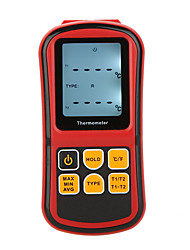 GM1312 Digital Thermometer Dual Channel Temperature Meter Tester for  Thermocouple with LCD Backlight