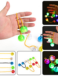 cheap -YWXLight® LED Night Light Luminous Finger YO YO Hand Finger Spinner Desk Kids Child For Rotation Time Long Anti Stress