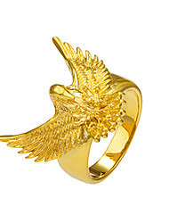cheap -Men's Women's Statement Rings Ring Animal Design Basic Fashion Punk Rock Gothic Copper Eagle Animal Jewelry Christmas Gifts Special