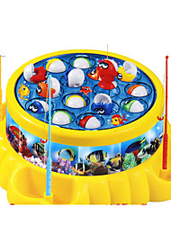 cheap -Fishing Toys Toys Circular Fish Music & Light Electric Plastic Children's Boys Pieces