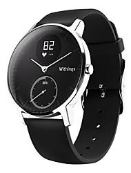 Недорогие -Смарт Часы Withings - Steel HR для iOS / Android Пульсомер / Израсходовано калорий / Длительное время ожидания / Защита от влаги / Регистрация дистанции / Напоминание о звонке / Педометры / > 480
