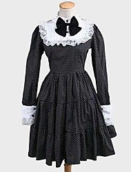 Lolita Classique/Traditionnelle Rococo Femme Adolescent Fille Une Pièce Robes Cosplay Manches Longues