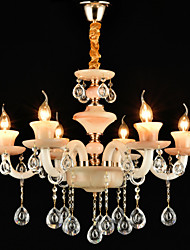 Chandelier ,  Modern/Contemporary Traditional/Classic Electroplated Feature for Crystal Mini Style MetalLiving Room Bedroom Dining Room