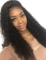Curly Lace Front Human Hair Wigs For Black Women Pre Plucked Natural Hairline With Baby Hair Joywigs