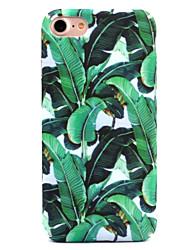 economico -Per iPhone 8 iPhone 8 Plus Custodie cover Fantasia/disegno Custodia posteriore Custodia Fiore decorativo Resistente PC per Apple iPhone 8