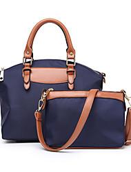 bolsas para mulheres saco de nylon de pu conjunto de bolsa de 2 peças para negócios casual formal